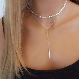 Two Layer Choker Necklace